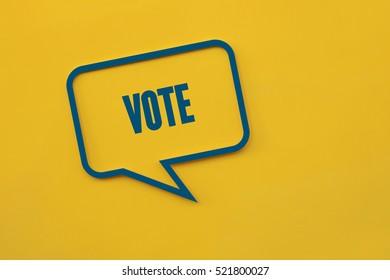 Vote, Business Concept