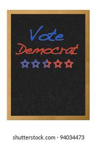 Vote democrat.