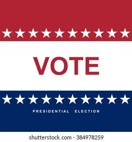 Vote. Election day. Background