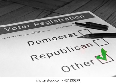 Voter Registration Form - Other / Third Party