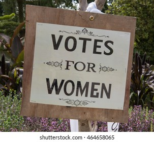 """Votes For Women"" Sign"