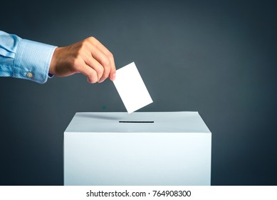 Voting box and election image