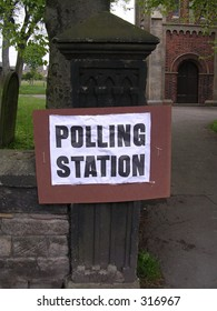 Voting, Polling Station.