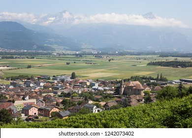 Vouvry is a municipality in the district of Monthey in the canton of Valais in Switzerland.