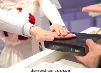 vows at the wedding