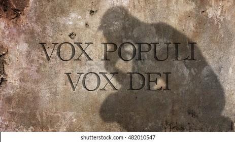 Vox Populi Images Stock Photos Vectors Shutterstock