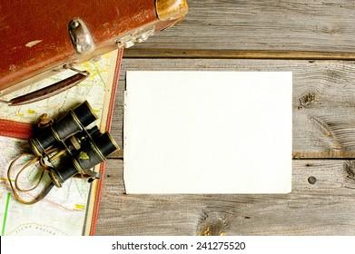 voyage arrangements and blank checklist