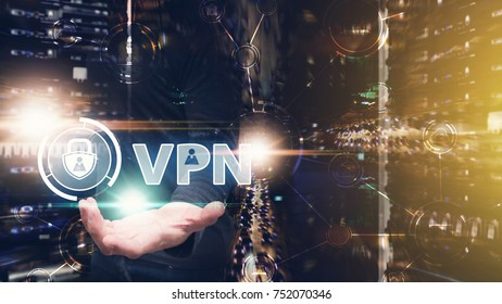 VPN for network security computer : Network administrator access the VPN gate way in data center