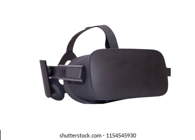VR headset isolated