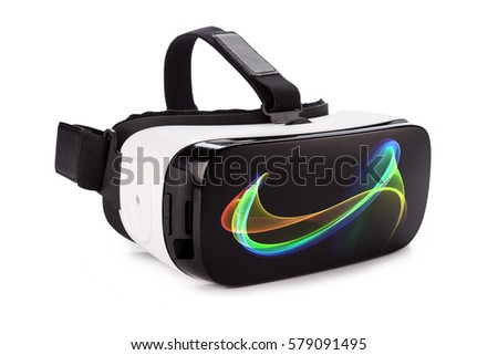 3418171f6d8a VR Virtual Reality Glasses Isolated On Stock Photo (Edit Now ...