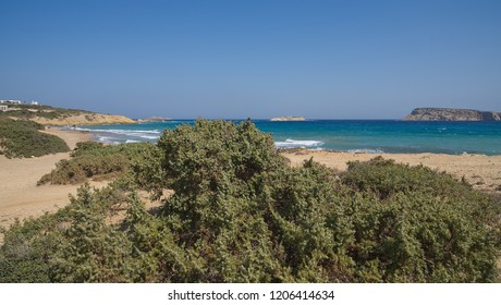 Vrachonisida Kteni bay - Paros coastline and beach - Cyclades Island - Greece