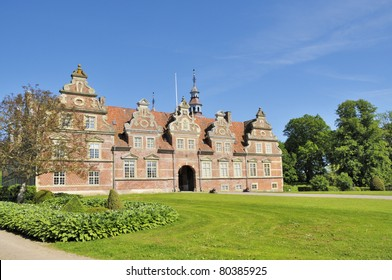 Vram Gunnarstorp is a Renaissance Castle in Skaane Sweden, it was visited by Carl Von Linne on one of his journeys to study plants. The Park is open to the public and houses some unique gardening.