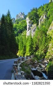 Vratna canyon in mountains of Mala Fatra, Slovakia