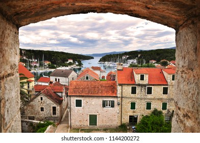 Vrboska village in Hvar island travel Croatia