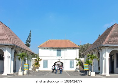Vre de Burg Fortress in Yogyakarta Indonesia, favorite place to visit near Malioboro
