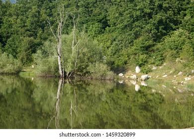 Vrmdzansko lake in Serbia near Soko Banja.