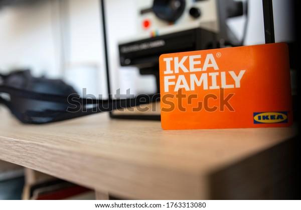 Vrsac Serbia 25062020 Ikea Family Card Stock Photo Edit Now 1763313080