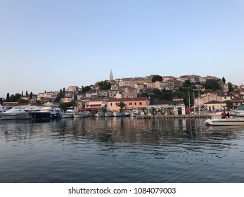 VRSAR, CROATIA - APRIL 29, 2018. - Cityscape of Vrsar, town in Croatia.