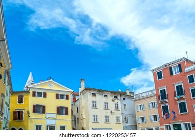 Vrsar, town in Istria, Croatia