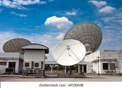 vsat satellite dishes