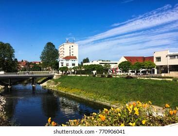 Vukovar city in Croatia