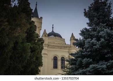 Vukovar, Croatia - 30/01/2019:  Mausoleum of the Paunović family in Vukovar