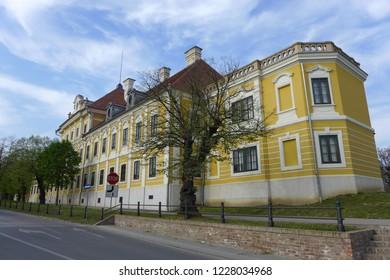 Vukovar Croatia April 7th 2016 city museum Castle Eltz
