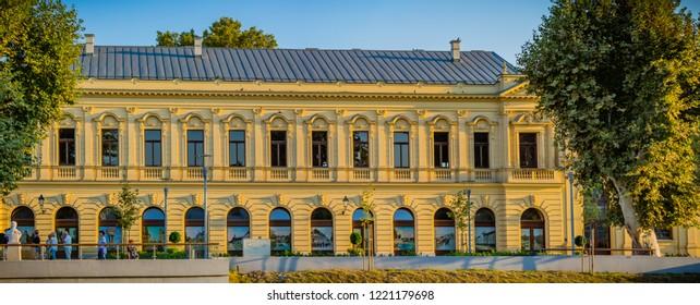VUKOVAR, CROATIA - Sept 21, 2018 - Panorama of the City museum l