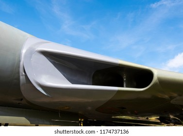 Vulcan bomber aircraft engine air intake