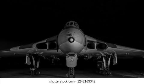 Vulcan bomber, Wellesbourne / UK, October 2017