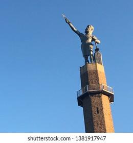 Vulcan statue at Vulcan park