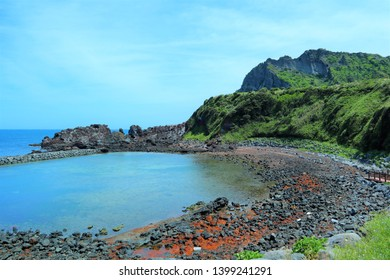 Vulcano beach with amazing nature