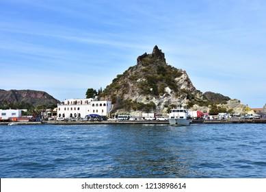 Vulcano island in group of Lipari(Aeolian) islancs near Italy