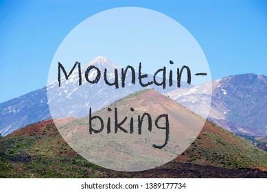 Vulcano Mountain, English Text Mountainbiking, Teneriffa, Nature