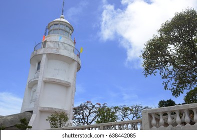Vung Tau Lighthouse.The land mark of Vung Tau city,Vietnam.