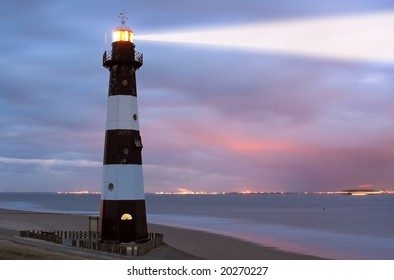 Vuurtoren Breskens lighthouse in the Netherlands