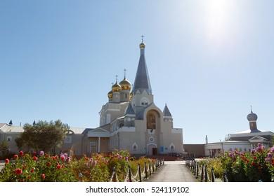 Vvedensky Cathedral parish of the Diocese of Astana and Almaty. Karaganda, Kazakhstan