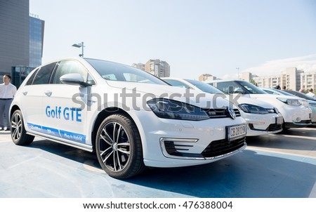 61f1e0d955bd VW Volkswagen Golf GTE Pluginhybrid Car Stock Photo (Edit Now ...