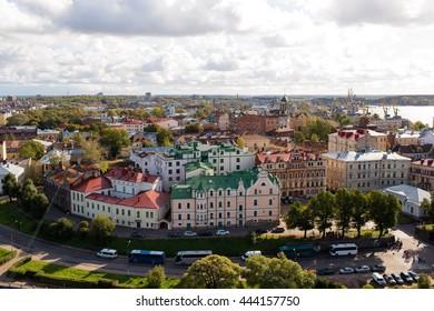 Vyborg castle. Russia