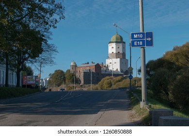 Vyborg, Russia. Vyborg Castle and St. Olaf's Tower