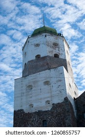Vyborg, Russia. St. Olaf's Tower in Vyborg Castle