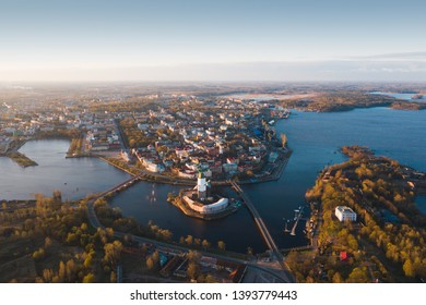 Vyborg to see from a height