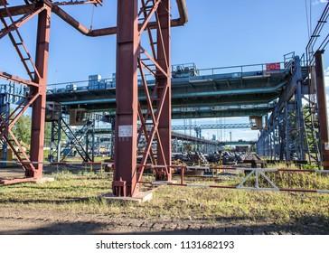Vyksa Steel Workshop with the latest open-hearth furnace in Russia