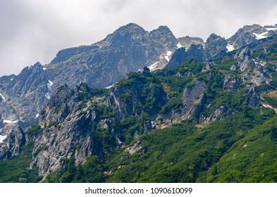 Vysoke Tatry Mountain peak