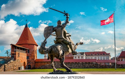 Vytis in Kaunas, Kaunas castle, Lithuania