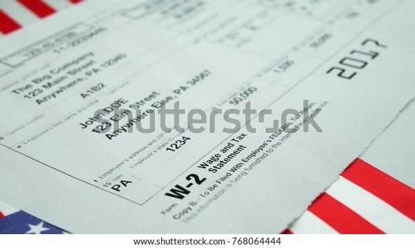 w2 form 2017  W16 Tax Form Copy B 16017 Stock Photo (Edit Now) 16
