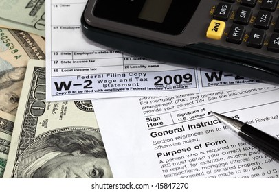 W-2 and W-9 Forms on US dollars