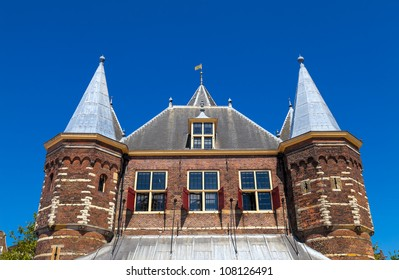 The Waag (weigh house) in Amsterdam, the Netherlands