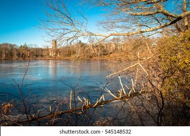 Waban lake, Wellesley
