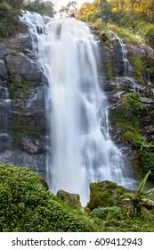 Wachiratharn Waterfall, Doi Inthanon National Park, Thailand